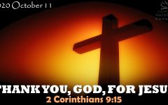 THANK YOU, GOD, FOR JESUS