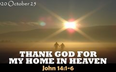 Thank God For My Home In Heaven