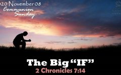 """THE BIG """"IF"""""""