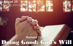 """""""Doing Good: God's Will"""""""